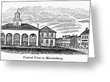 Martinsburg, West Virginia Greeting Card