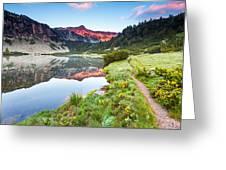 Marvelous Lake Greeting Card