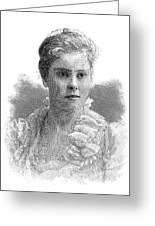 Mary Crowninshield Endicott Chamberlain Greeting Card