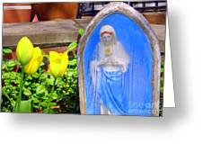 Mary In Springtime Greeting Card