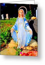 Mary In Sunlight Greeting Card