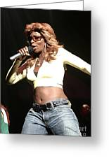 Mary J. Blige Greeting Card