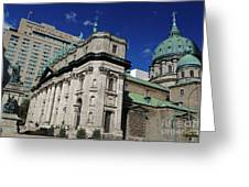 Mary Queen Of The World Cathedral Montreal Greeting Card