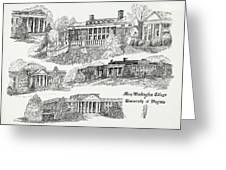 Mary Washington College Greeting Card
