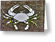 Maryland Country Roads - Camo Crabby 1a Greeting Card