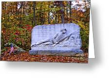 Maryland Monument At Gettysburg Greeting Card