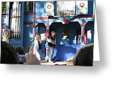 Maryland Renaissance Festival - A Fool Named O - 121215 Greeting Card by DC Photographer