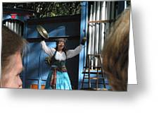 Maryland Renaissance Festival - A Fool Named O - 121223 Greeting Card
