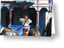 Maryland Renaissance Festival - A Fool Named O - 121226 Greeting Card by DC Photographer