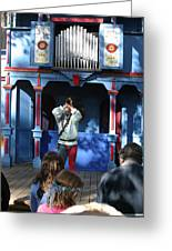 Maryland Renaissance Festival - A Fool Named O - 12123 Greeting Card by DC Photographer