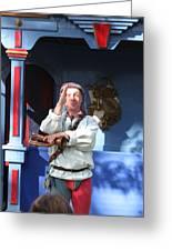 Maryland Renaissance Festival - A Fool Named O - 12125 Greeting Card