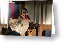 Maryland Renaissance Festival - Johnny Fox Sword Swallower - 121275 Greeting Card by DC Photographer