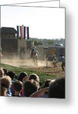 Maryland Renaissance Festival - Jousting And Sword Fighting - 1212174 Greeting Card