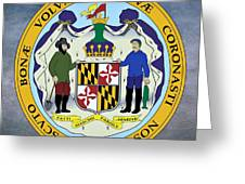 Maryland State Seal Greeting Card
