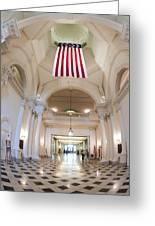 Maryland Statehouse Interior Greeting Card