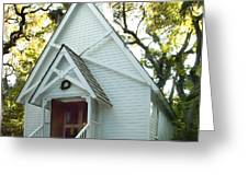 Mary's Chapel Greeting Card