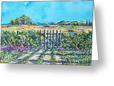 Mary's Field Greeting Card