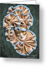 Maschera Di Carnevale Greeting Card