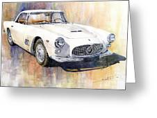 Maserati 3500gt Coupe Greeting Card
