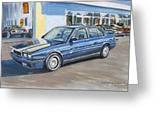 Maserati Biturbo  Greeting Card
