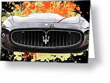 Maserati Granturismo I V Greeting Card