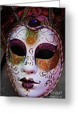 Mask 2 Greeting Card