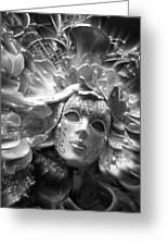 Masked Angel Greeting Card