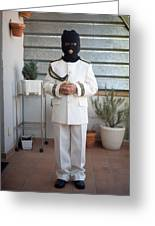 Masked First Communion Greeting Card