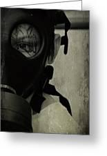 Masked Greeting Card