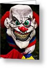 Masks Fright Night 1 Greeting Card