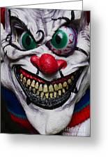 Masks Fright Night 6 Greeting Card