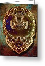 Masque Greeting Card