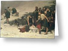 Massacre Of Glencoe, 1883-86 Greeting Card