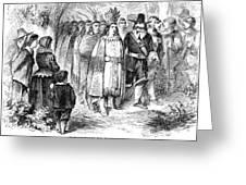 Massasoit (c1581-1661) Greeting Card