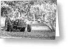 Massey Ferguson Tractor Greeting Card