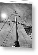 Mast Of Yacht Greeting Card