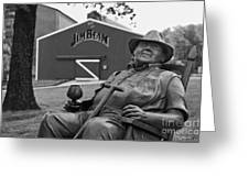 Master Distiller - D008301-bw Greeting Card
