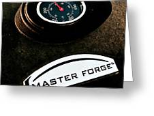 Master Forge Greeting Card