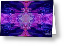 Mastering Universal Ideals Abstract Healing Artwork By Omaste Witkowski Greeting Card