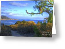 Masterpiece Coastline Greeting Card