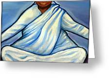 Mata Amritanandamayi Greeting Card by Carmen Cordova