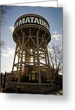 Matadero Water Tank Greeting Card