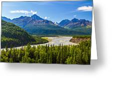 Matanuska River Greeting Card