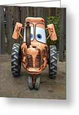 Mater's Tractor Greeting Card
