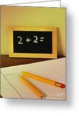 Math Frustration Greeting Card