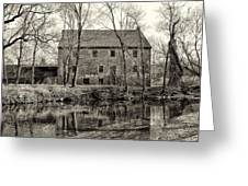 Mather's Grist Mill Greeting Card