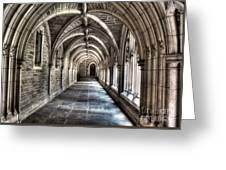Mathey College Hall Greeting Card