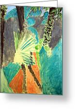 Matisse's Palm Leaf In Tangier Greeting Card