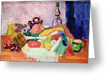 Matisse's Still Life Greeting Card