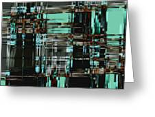 Matrix 1 Greeting Card
